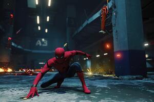 Spiderman 4k Ps4