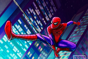 Spiderman 4kArt