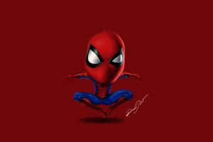 Spiderman 5k Digital Artwork