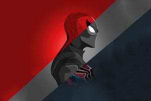 Spiderman 5k Minimalism Wallpaper