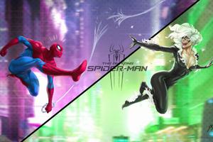 Spiderman And Black Cat Wallpaper