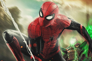 Spiderman And Mysterio 4k