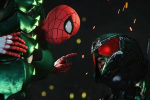 Spiderman And Scorpion