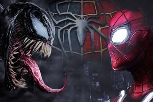 Spiderman And Venom 4k