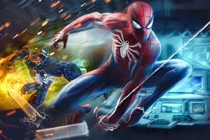 Spiderman Andvenom