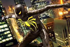 Spiderman Anti Ock Suit 4k