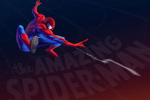 Spiderman Artwork 4k 5k Wallpaper