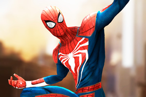 Spiderman Artwork HD 2018