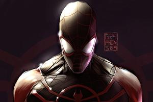 Spiderman Back In Black 4k Wallpaper