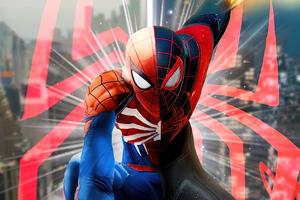 Spiderman Be Great Again 4k Wallpaper