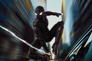Spiderman Black Suit 2020
