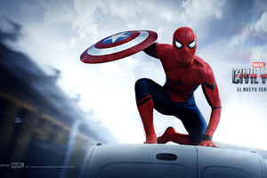 Spiderman Captain America Civil War