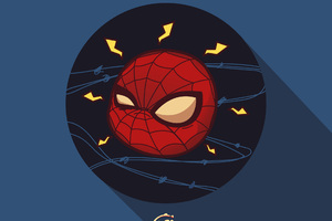 Spiderman Chibi Marvel Heroes