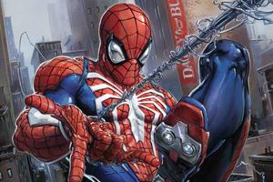Spiderman City At War