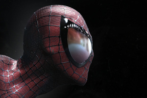 Spiderman Closeup Artwork
