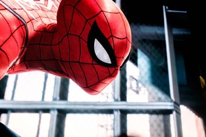Spiderman Closeup Wallpaper