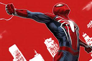 Spiderman Comic Arts 4k Wallpaper