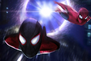 Spiderman Coming From Another Dimesion