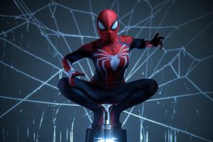 Spiderman Cosplay 8k