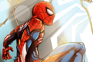 Spiderman Cover Art