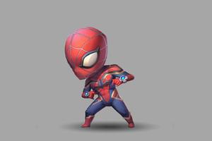 Spiderman Cute Art