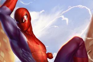 Spiderman Day Light Wallpaper