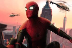 Spiderman Dc Comic Cover Art Wallpaper