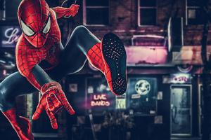 Spiderman Dc Heroes 4k Wallpaper