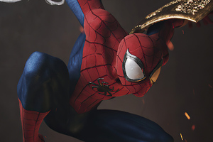 Spiderman Digital 3d Wallpaper