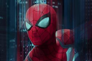 Spiderman Digital Art 4k Wallpaper