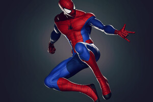 Spiderman Digital Art Wallpaper