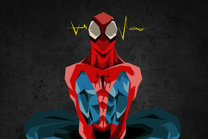 Spiderman Digital Art HD