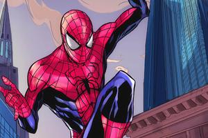 Spiderman Digital Art New