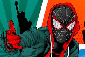 Spiderman Digital Arts New Wallpaper