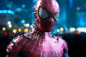 Spiderman Digital Artwork