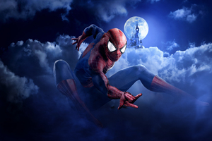Spiderman Disneyland Paris Marvel Summer Of Superheroes