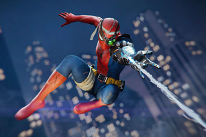 Spiderman Dlc Cyborg 4k