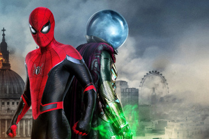 Spiderman Far From Home Movie 4k Wallpaper