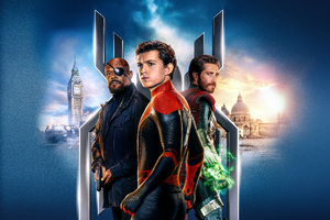 Spiderman Far From Home Movie 8k
