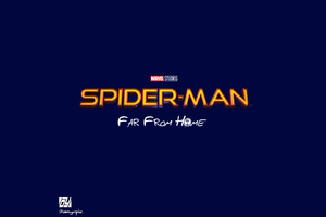 Spiderman Far From Home Movie Logo
