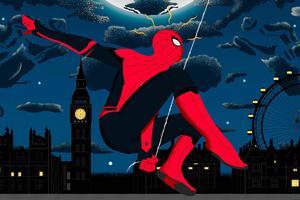 Spiderman Far Fromhome 4k Art