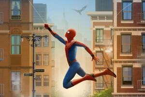 Spiderman Farfrom Home Art