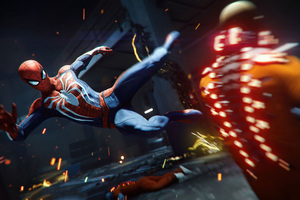 Spiderman Fighting In Cellblock