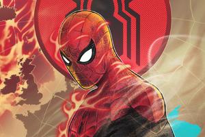 Spiderman Flame
