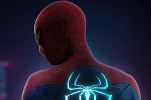 Spiderman Glowing Suit Wallpaper