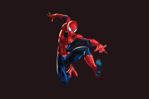 Spiderman Graphic Design 4k