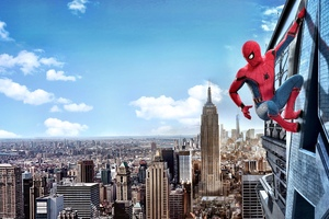 Spiderman Homecoming 4k Wallpaper