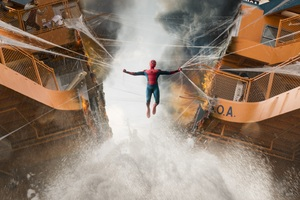Spiderman Homecoming Boat Fight Scene