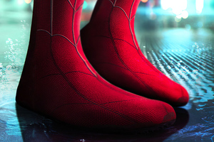 Spiderman Homecoming Boots 4k Wallpaper