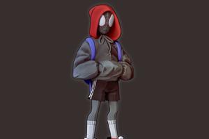 Spiderman Hoodie Guy